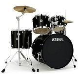 TAMA Swingstar 5pcs Rock Drum Kit [S52KH6] - Black - Drum Kit